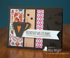 Created by Rita using the October 2014 card kit by Simon Says stamp.  Stamptember 2014