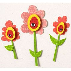 April Showers Bring May Flowers - Craft idea