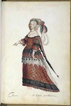 Ballet des noces de Pélée et Thétis. Junon