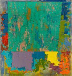 John Hoyland paintings -BBC feature