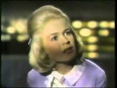 From the 1963 movie - Tammy & The Doctor - here's Sandra Dee singing 'Tammy' - Look at Peter Fonda here!! He was only 22 when they made this in 1962 - it was Peter's first film he had stared in.