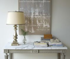 Tone on Tone: Accessorizing Series: Styling a Console 5 Ways