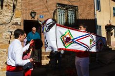 La Barrosa de Abejar, uno de los carnavales rurales de Soria más vistosos. Foto: Desde Soria