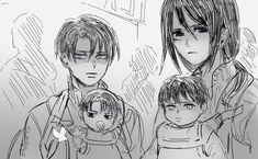 Attack On Titan Ships, Attack On Titan Fanart, Levi Mikasa, Armin, Levi Titan, Elizabeth Seven Deadly Sins, Fraternal Twins, Rivamika, Naruto Shippuden Anime