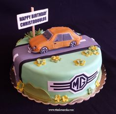 Mg Car Cake Party Ideas Pinterest Cake Just