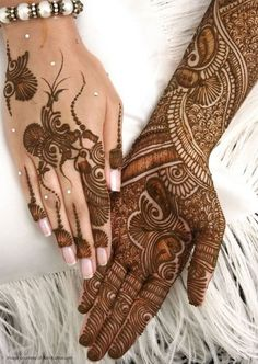 Best Hand Mehndi Designs Ideas 2014 for Eid-ul-Azha