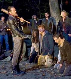 """""""I do not appreciate you killing my men. Also, when I sent my people to kill your people for killing my people, you killed more of my people. Not cool. Not cool. You have no idea how not cool that shit is."""" — Negan"""