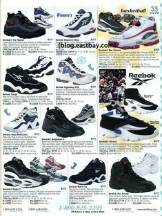 9f048c288ec3 Reebok Basketball 1998 Featuring The Answer 1  Eastbay Vintage Sneakers