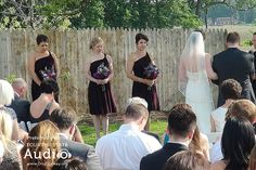 The bridesmaids savor the moment at Emerson Creek. http://www.discjockey.org/emerson-creek