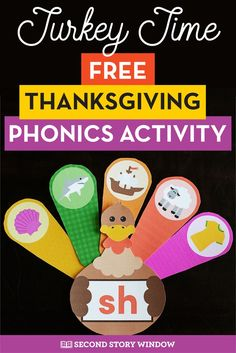 Turkey Digraphs Practice beginning digraphs with this free phonics center for Kindergarten, Grade, and Grade classrooms! Students will love practicing beginning digraphs in this fun seasonal activity. Autumn Activities For Kids, Word Work Activities, Phonics Activities, Craft Activities, Preschool Lessons, Teaching Kindergarten, Teaching Ideas, Special Education Classroom, Classroom Freebies