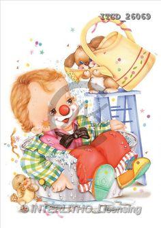 Michele, CHILDREN, paintings(ITCD26069,#K#) Kinder, niños, illustrations, pinturas