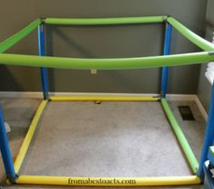 20 Unique Things to Do with a Pool Noodle. Put a sheet over it and you have it.