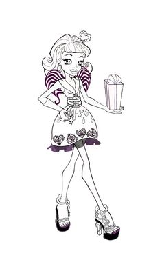 255 Best Monster High Images Images Coloring Pages Colouring
