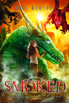 Cover Reveal: Smoked (Scorched by Mari Mancusi -On sale September 2015 -Once upon a time the world burned. Until a girl and her dragon smothered the flame. But the spark that ignited the apocalypse never went out. And the Scorch is about to begin. Ya Books, Books To Read, Books For Teens, Teen Books, Photoshop, Book Girl, What To Read, Fantasy Books, Romance Novels
