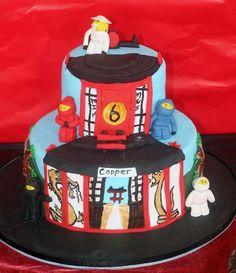 Lego cake #ninjago #legocake