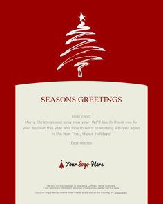 Free Christmas Card Email Templates Entrancing 7 Holiday Email Campaigns That Give Back  Email Inspiration .