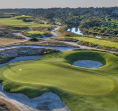 The 10th hole at Kiawah Island's Ocean Course