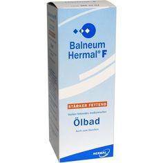 BALNEUM Hermal F flüssiger Badezusatz:   Packungsinhalt: 500 ml Flüssigkeit PZN: 02328561 Hersteller: ALMIRALL HERMAL GmbH Preis: 13,30…