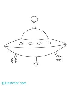Spaceship Coloring Pages Printable Spaceship Drawing, Spaceship Tattoo, Alien Spaceship, Ufo, Space Theme, Space Space, Space Ship, Coloring Books, Coloring Pages