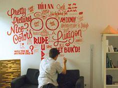 luxigon wall   by james t edmondson