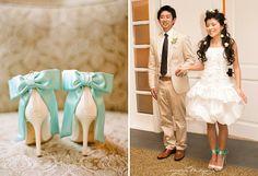custom made reception shoes
