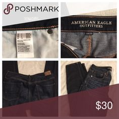 American eagle Tom girl stretch size 8 •cleaning out my life and cleaning out my closet! Open to reasonable offers, looking to get rid of all this stuff ASAP! Able to ship same or next day. Thank you so much for checking out my closet• American Eagle Outfitters Jeans Boyfriend