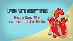 Living with Arrhythmias: What to Know When Your Heart is Out of Rhythm - Alliance for Aging Research Heart Rhythms, Heart Disease, In A Heartbeat, Your Heart, Medical, Sign, Learning, Health, Wedding Ring