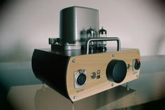 Audiophile Reference Hybrid Tube Preamplifier/ Headphone Amplifier Amp  > Artisan Crafted  > Reclaimed Wood Case  > Made in CALIFORNIA, U.S.A.   by UniqueHighFidelity on Etsy  ............This unique creation is a true work of art -both in it's form and it's function as well..