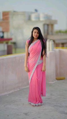 Indian Bollywood Actress, Bollywood Girls, Beautiful Girl Indian, Beautiful Saree, Frocks For Girls, Girls Dresses, Indian Wedding Songs, Wedding Lehenga Designs, Glamour Ladies