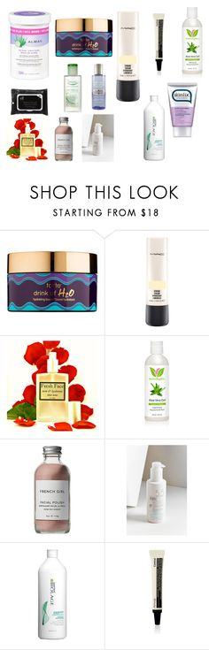 """""""Untitled #32"""" by ayrilimon ❤ liked on Polyvore featuring beauty, Neutrogena, tarte, MAC Cosmetics, Skinfix, French Girl, acwell, Matrix Biolage and Aesop"""