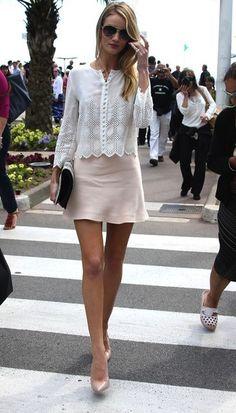 Rosie Saias Curtas, Look Com Saia, Dicas De Moda, Primavera Verão, Curtidas 97386dc6da