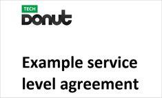 Service Level Agreement Sla A  Way Agreement  BrandergyCom