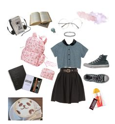 """leave me to my own devices"" by metheexcellent on Polyvore featuring Preen, Motel, Converse and Muji"