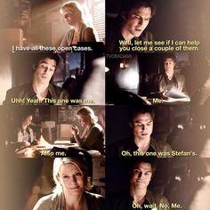 "#TVD 6x14 ""Stay"" - Liz and Damon"
