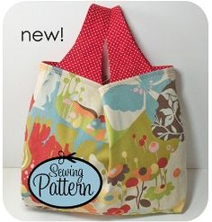 This Easy Reusable Grocery Bag pattern is new from Keyka Lou Patterns. According to the description, it's designed to be easy to load. Sewing Class, Love Sewing, Sewing Diy, Bag Patterns To Sew, Pdf Sewing Patterns, Reusable Grocery Bags, Market Bag, Textiles, Bag Making