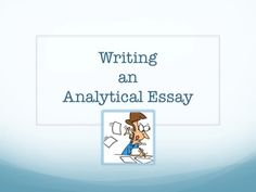 analytical essay outline writing tips for students and writers  essay writing analytical
