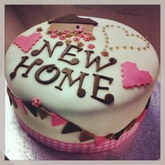 New home cake