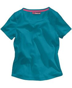 Epic Threads Girls' Shirttail-Hem Tee & Denim Shortalls - Kids - Macy's