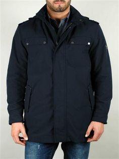 BELSTAFF abrigo 710884 Azul