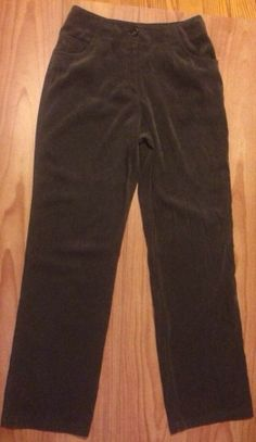 J Jill Stretch 10 T Tall Pants Brown Brushed Suede Jean Look Five Pockets