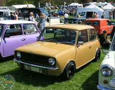 Sweet lil ClubMonday Mini snapped at the BMC Himley Hall Show, love the detailing picked out on the tyres!
