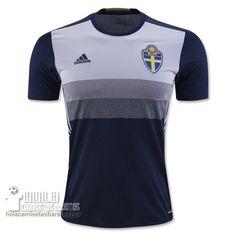Camiseta Segunda Suecia Euro 2016  €15.5