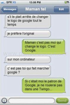 maman logo google perles des sms