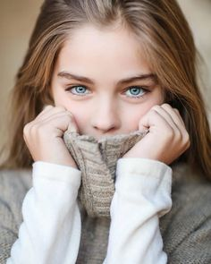 Jade Weber. Again eyes and soft sweater