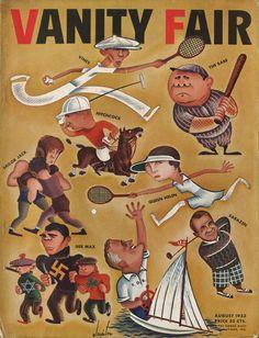 Vanity Fair - August 1933,