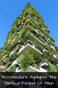 Bosco Verticale is the most stunning piece of sustainable architecture we've encountered so far...