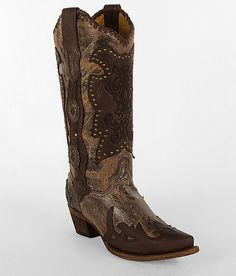 Corral Pieced Cowboy Boot #buckle #fashion #boots www.buckle.com