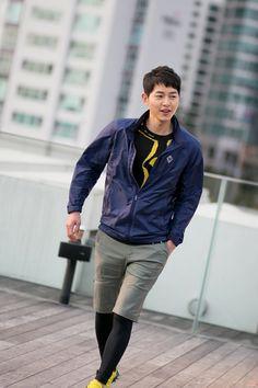 Song Joong Ki   KOLON SPORT Behind the Scene