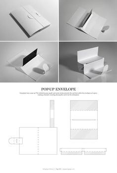 packaging portfolio mockup with dielines - Google Search