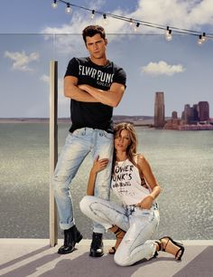 Gisele & Sean O'Pry for Colcci Spring/Summer 2016 by Nino Munoz